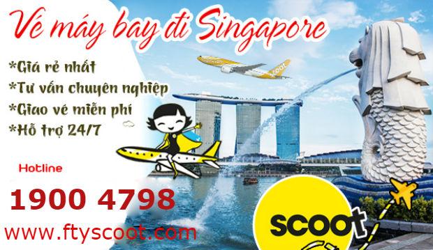 Cách săn vé máy bay giá rẻ đi Singapore