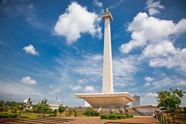 Tượng đài ở Jakarta