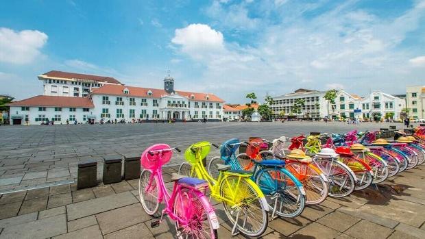 Phố cổ Kota Tua Jakarta