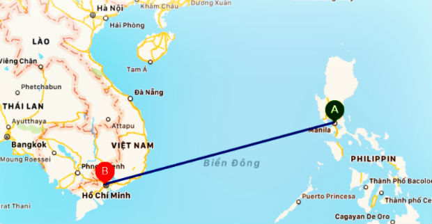 Vé máy bay từ HCM đi Manila