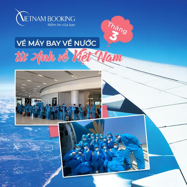 Cập nhật lịch bay từ Anh về Việt  Nam mới nhất 3/2021