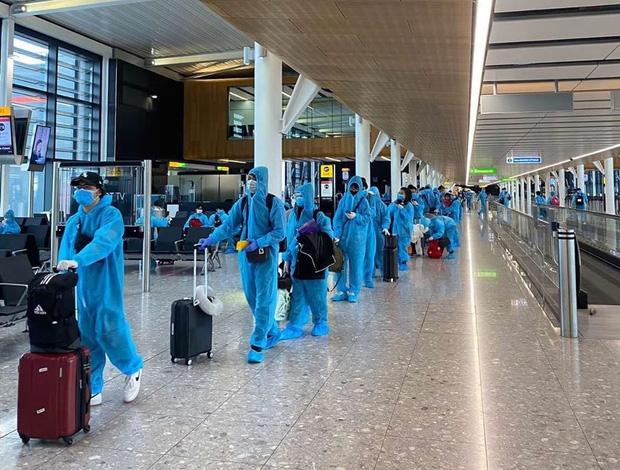 Chuyến chuyến bay từ Malaysia về Việt Nam