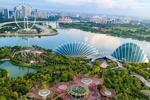 vé máy bay đi singapore 2021